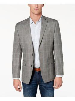 Mens Grey Sports Coat Jacket
