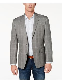 Mens Grey Sports Coat Jacket