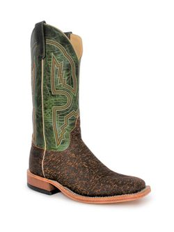 Mens Anderson Bean Rust Safari Cape Buffalo Boots