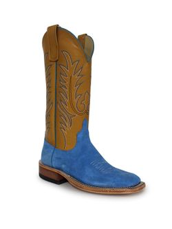 Ladies Anderson Bean Sea Salt Deercrow Saddle Boots