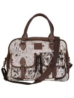 Unisex STS Cowhide Weekender Bag