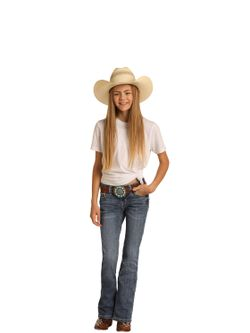 Kids Panhandle Slim Girls Rock N Roll Jeans Jeans