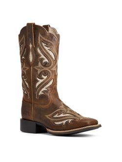 Ariat Ladies Bliss Sassy Round Up Boots