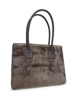 Ladies Juan Antonio Antelope Brown River Bag
