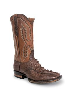 Mens Black Jack Snapping Turtle Cowboy Boots