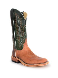 Mens Anderson Bean Emerald Green Grizzly Boot