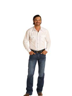 Mens Panhandle Slim Double Barrel Vintage Jeans