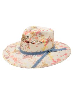 Ladies Charlie One Horse Big Splash Straw Hat