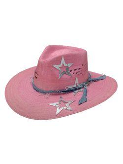 Ladies Charlie One Horse Super Star Straw Hat