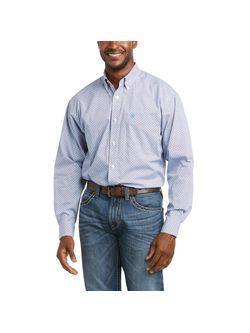 Mens Ariat Herbert Classic White Long Sleeve Shirt