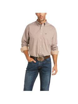 Mens Ariat Ash Bark Grady Long Sleeve Shirt