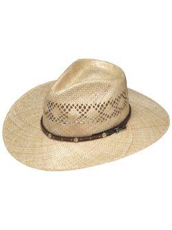 Ladies Sun Straw Twister Hat