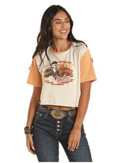 Ladies Panhandle Slim Western Dream Tee