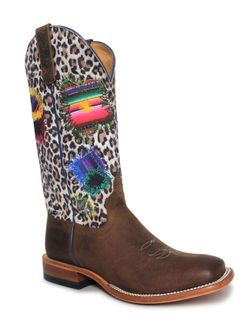 Ladies Macie Bean  Eye Of The Tiger Boots