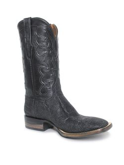 Mens Black Jack Black Elephant Boots