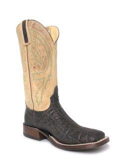 Anderson Bean Mens Chocolate  Bone Elephant Boots