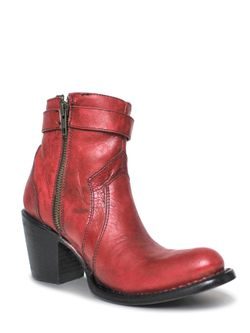 Ladies Corral Red Bootie