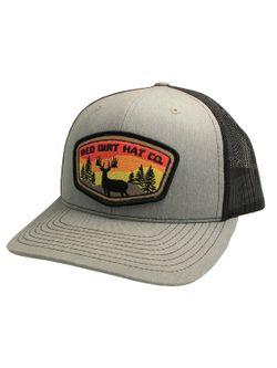 Mens RDHC Deer Tag Heather Gray Cap