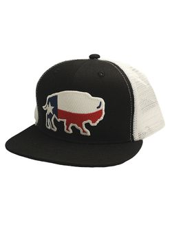 Youth RDHC Texas Buffalo Black and White Cap