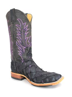 Mens Anderson Bean  Black Panther Big Bass Boots