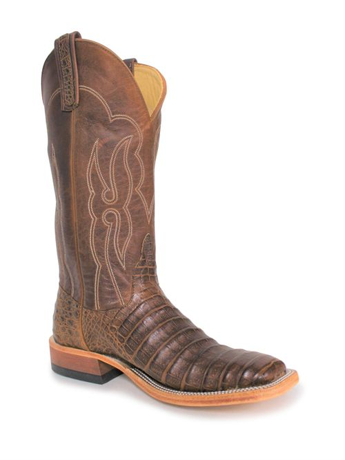 Ladies Anderson Bean Post Oak Caiman Belly Boots