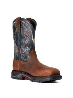 Mens Ariat Workhog Cottonwood Composite Toe Work Boot