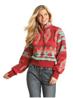 Ladies Panhandle Slim  Pullover Sweater