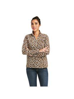 Ariat Ladies Leopard Fleece