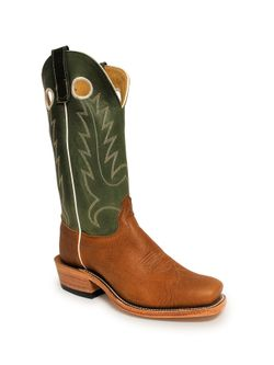 Olathe Mens Natural Twister Bison Boots