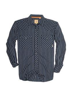 Resistol Mens Addison Snap Long Sleeve Shirt