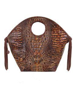 Double J Ranch Ladies Hornback Gator Bolsa Bag