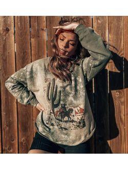 Tbc Ladies Matchbook Sweatshirt