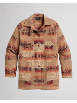 Pendleton  Ladies Vintage Wool Tan Chief Joseph Coat