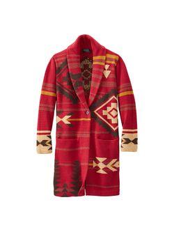 Pendleton Ladies Rosewood Red Sweater