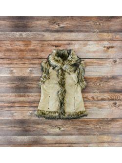 Tasha Pollizi Ladies Luxe Vest In Cashmere