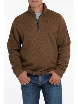 Cinch Mens Brown Sweater