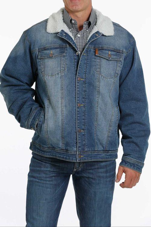 Cinch Mens Denim Trucker Jacket
