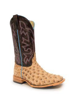 Horse Power Mens Tan Vintage Bruciato Boots