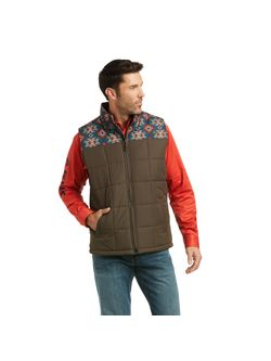 Ariat Mens Colorblock Crius Conceal Carry Vest