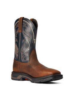 Mens Ariat Workhog Cottonwood  Soft Toe Work Boots
