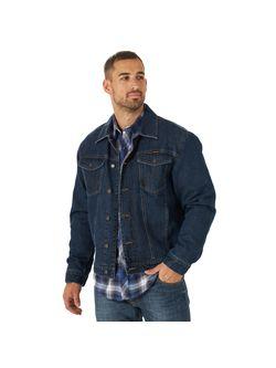 Wrangler Mens Blanket Lined Denim Jacket