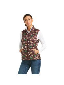 Ariat Ladies Pasture Print Ideal Vest