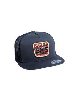 Red Dirt Hat Company Mens Chupacabra Charcoal