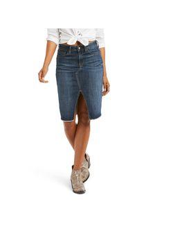 Ariat Ladies Detroit Denim Skirt