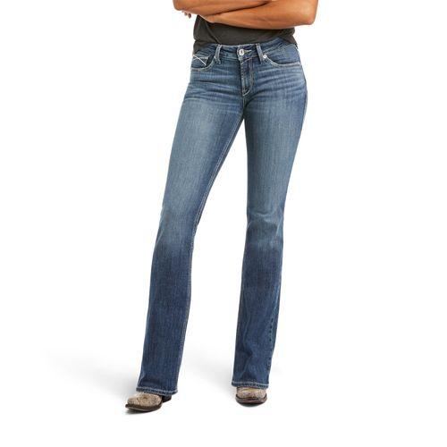 Ariat Ladies R.E.A.L. Perfect Rise Alma Boot Cut Jean
