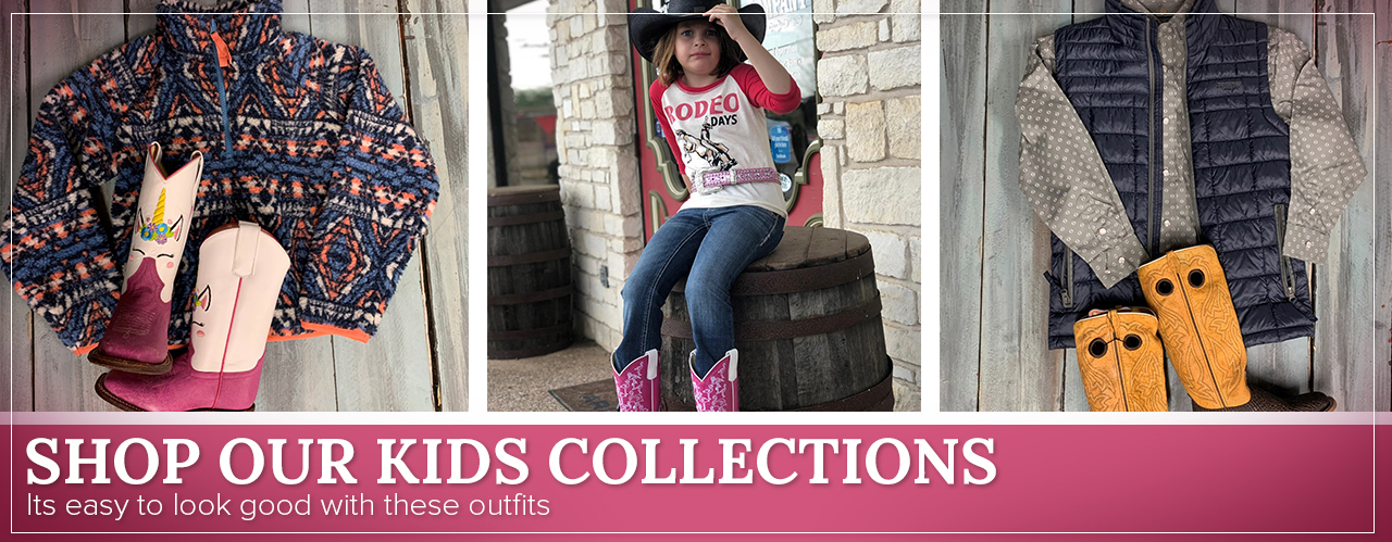 Shop our Kids Collections